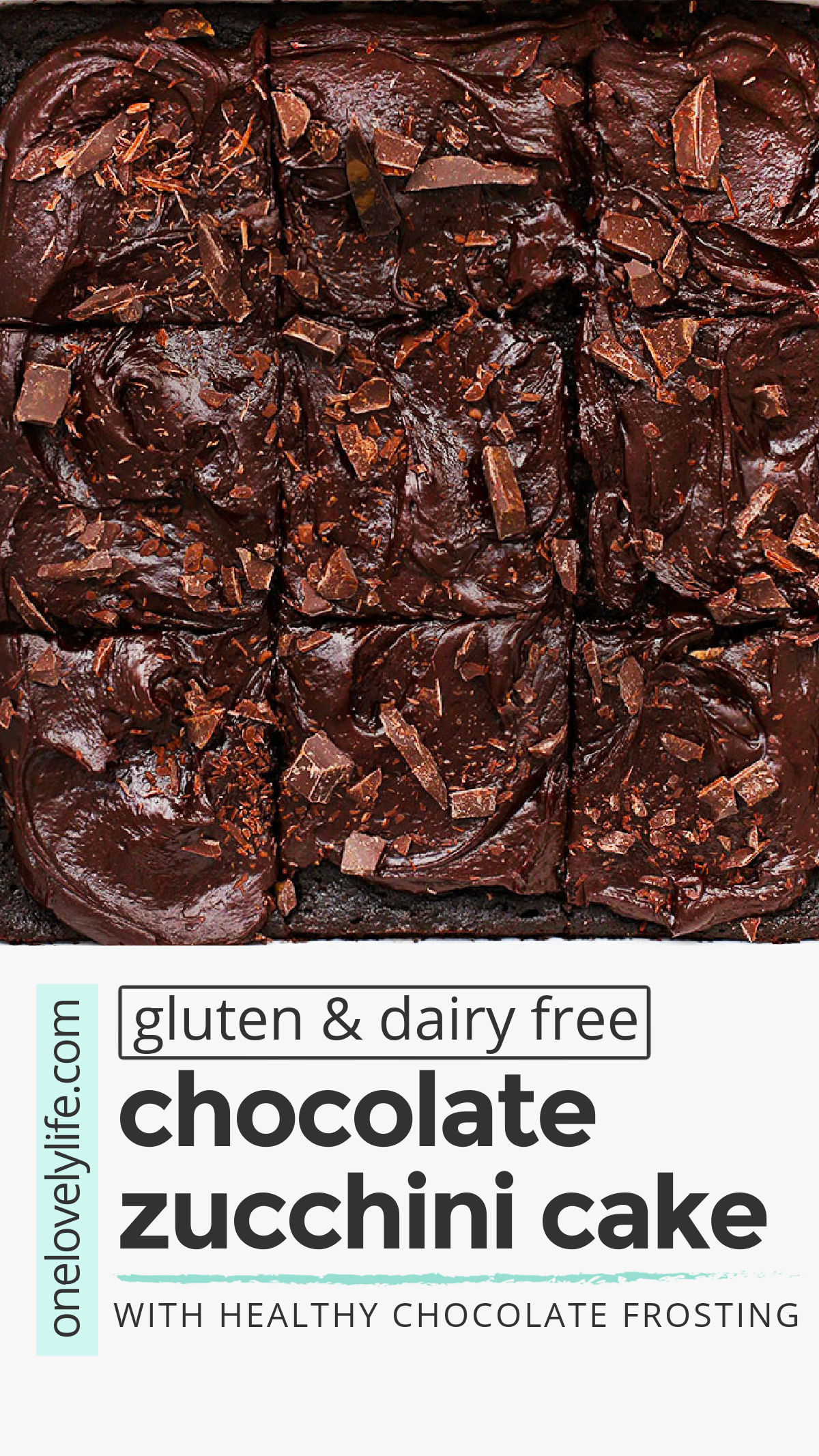 The BEST Gluten Free Chocolate Zucchini Cake. This gorgeous almond flour chocolate zucchini cake is packed with chocolate flavor. It's rich and decadent and 100% naturally sweetened! You'll love the paleo chocolate frosting! // gluten free cake recipe // gluten free chocolate cake recipe // dairy free chocolate cake recipe // almond flour cake // gluten free zucchini cake recipe #chocolate #zucchini #zucchinicake #chocolatecake #glutenfreecake #glutenfreechocolatecake #paleocake #almondflourcake
