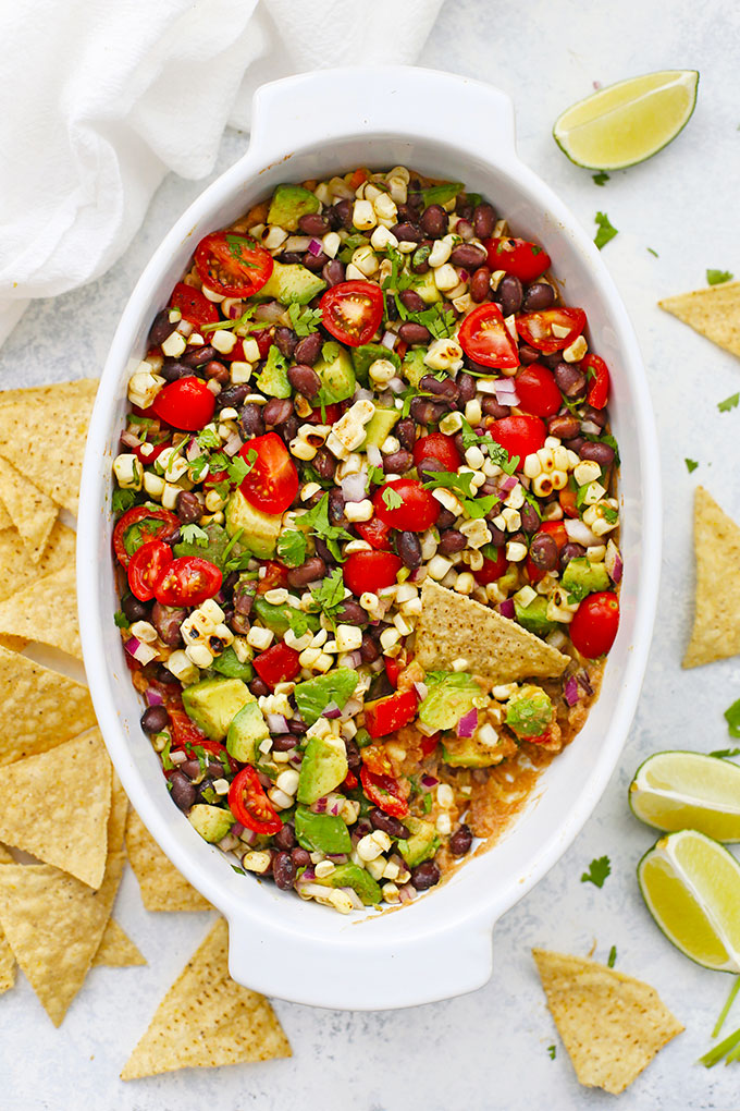 Cowboy Caviar Bean Dip from One Lovely Life