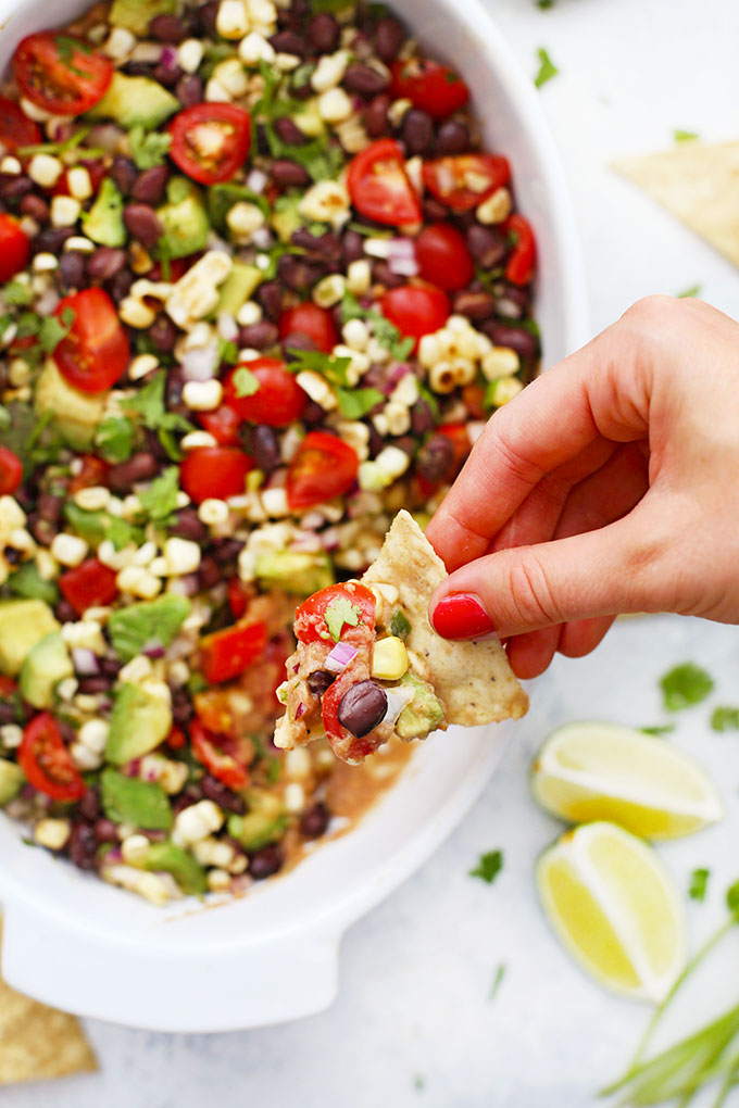 Gluten Free & Vegan Cowboy Caviar Bean Dip