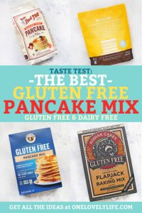 Taste Test: The Best Gluten Free Pancake Mix