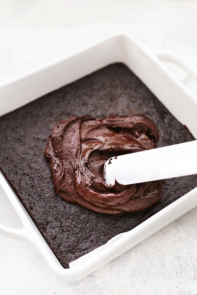 Paleo Chocolate Frosting for Gluten Free Chocolate Zucchini Cake