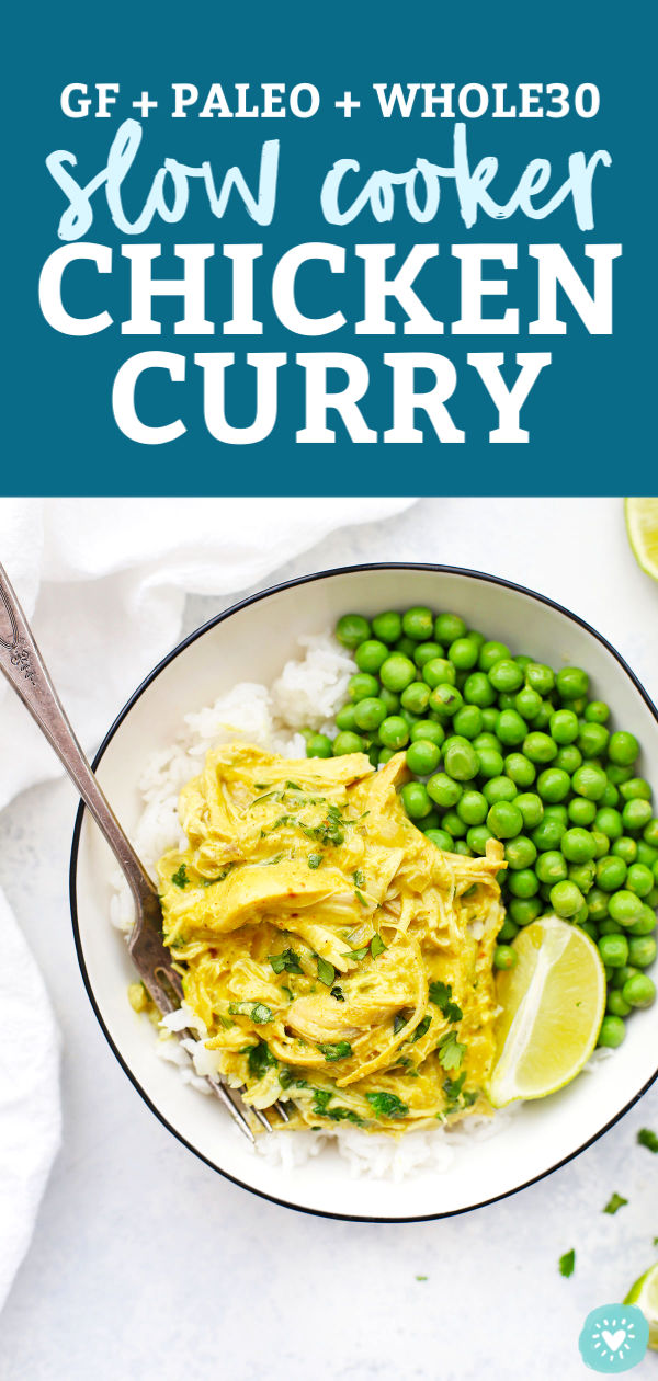 Slow Cooker Chicken Curry from One Lovely Life