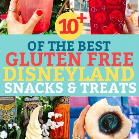 Gluten Free Snacks and Treats at Disneyland and California Adventure