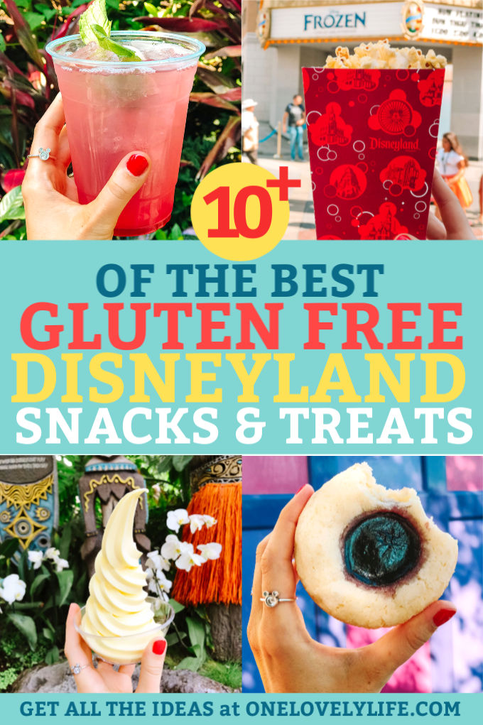 Gluten Free Snacks and Treats at Disneyland and California Adventure
