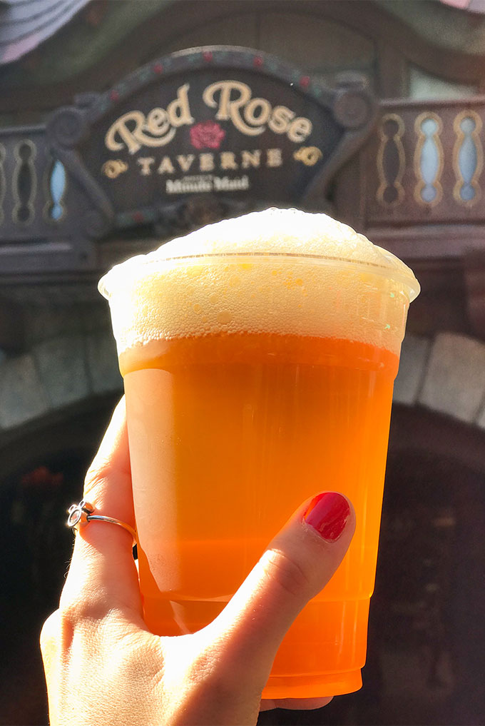 Gaston's Famous Brew at Red Rose Taverne in Disneyland