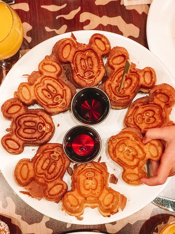 Allergy Friendly Mickey Waffles from Storytellers Cafe