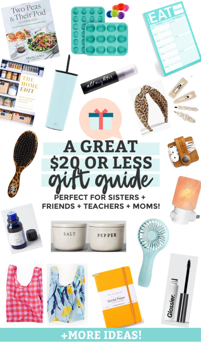 Under 20 Gift Guide One Lovely Life