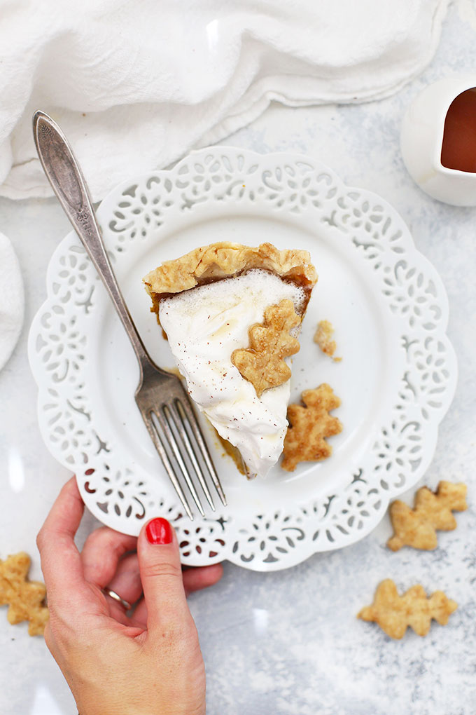 Gluten Free Maple Pumpkin Pie from One Lovely Life