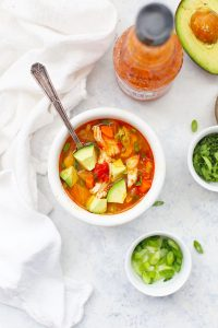 Instant Pot Buffalo Chicken Chili from One Lovely Life