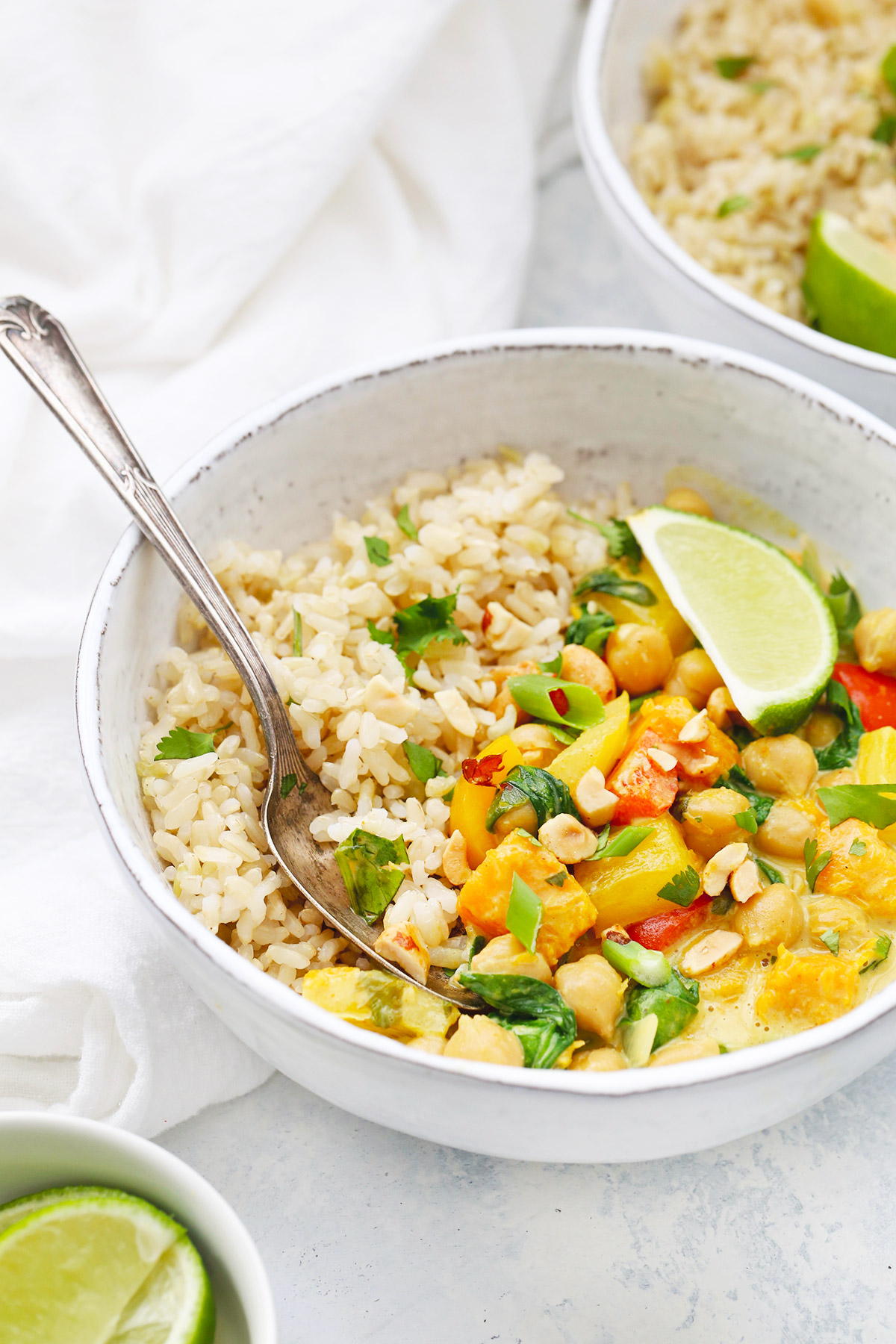 Vegan Butternut Squash Curry from One Lovely Life