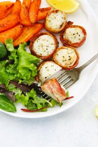 Bacon-Wrapped Scallops Recipe from One Lovely Life