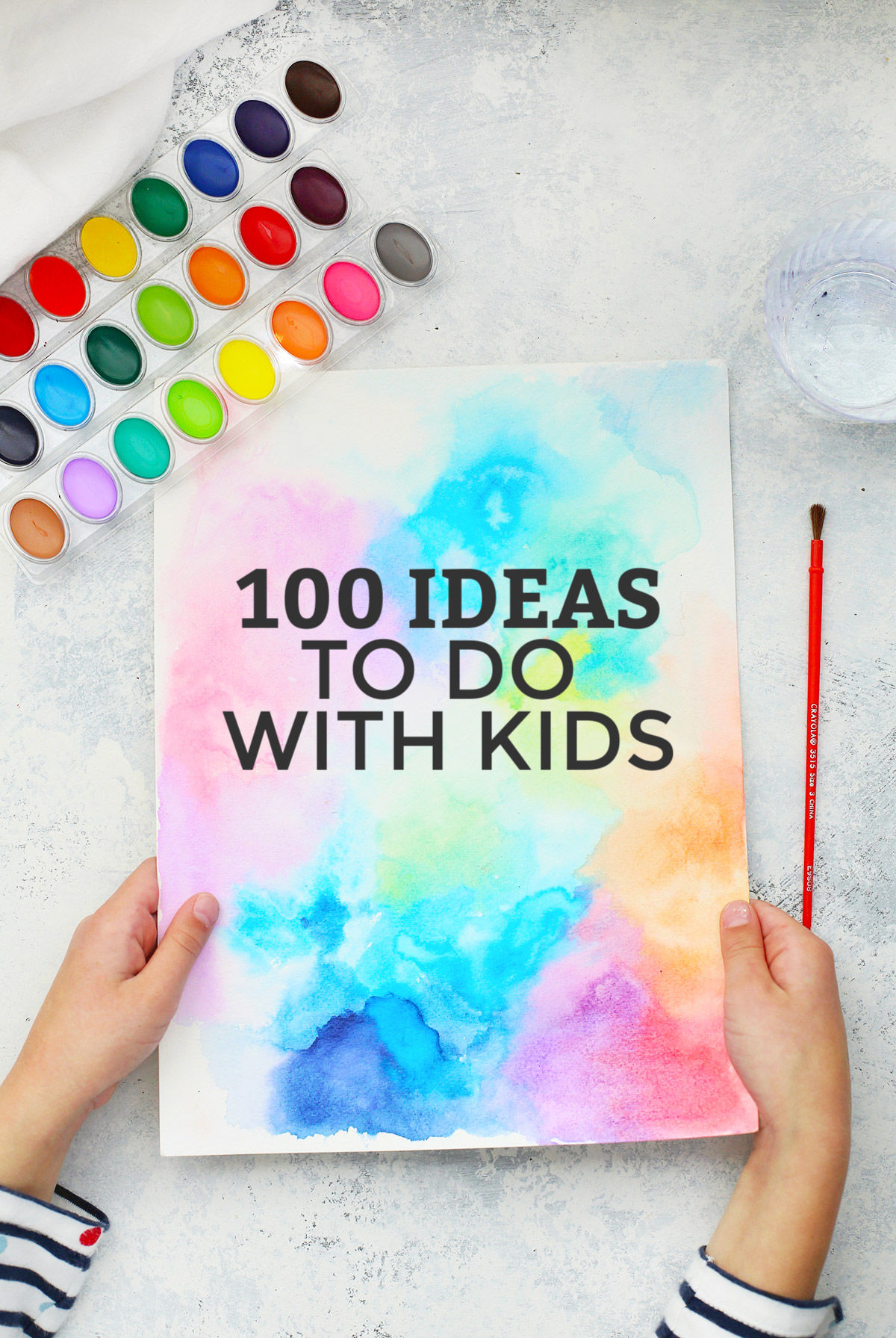 100 Activities to Do With Kids +FREE Printable List from One Lovely Life