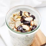 Cherry Almond Overnight Oats from One Lovely Life