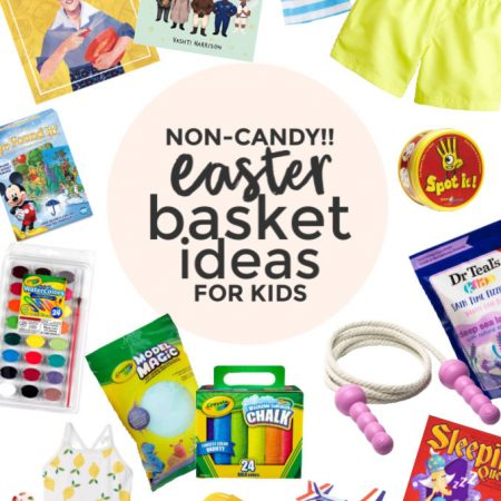 Non Candy Easter Basket Ideas from One Lovely Life
