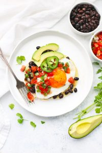 Huevos Rancheros with Pico de Gallo from One Lovely Life