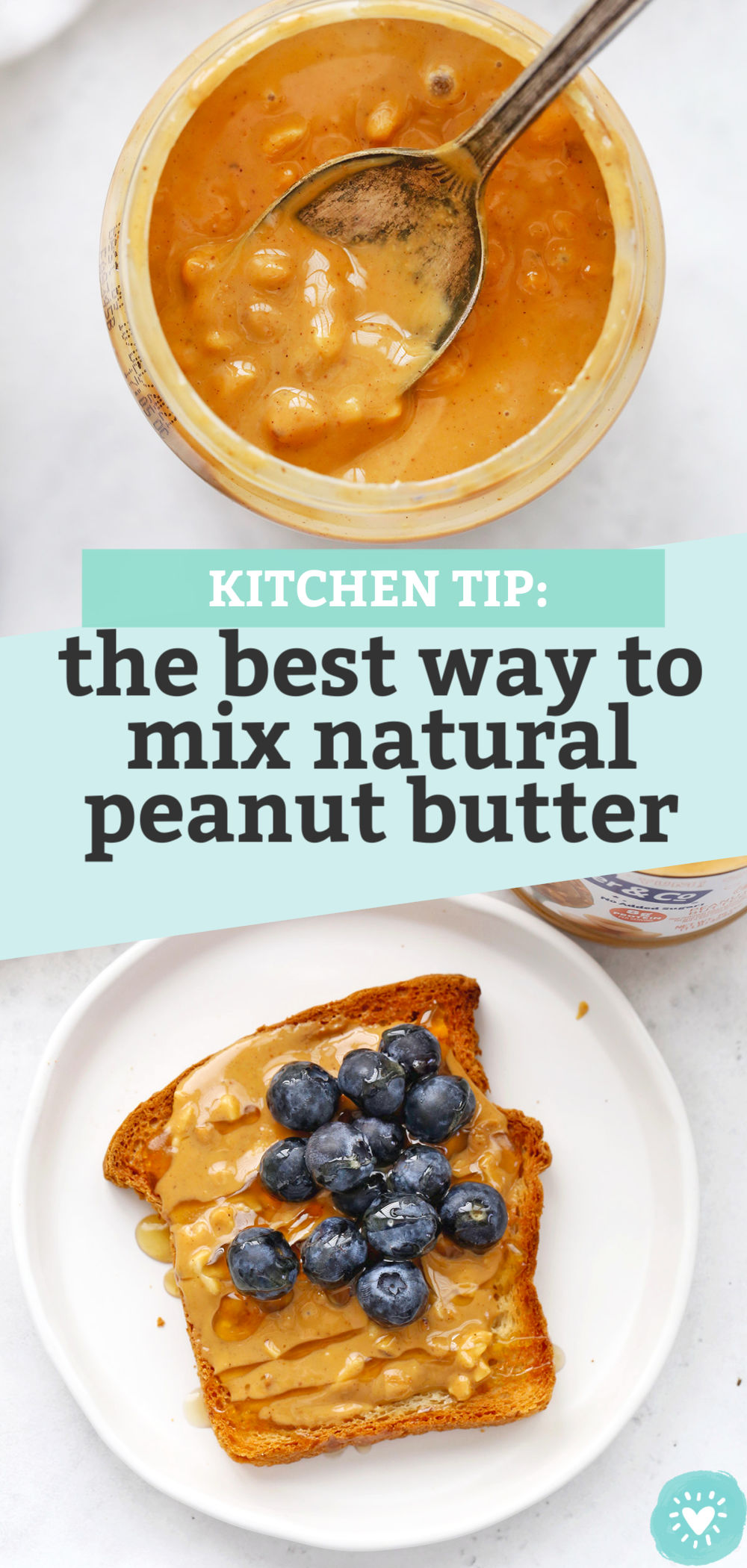 The Best Way to Mix Natural Peanut Butter