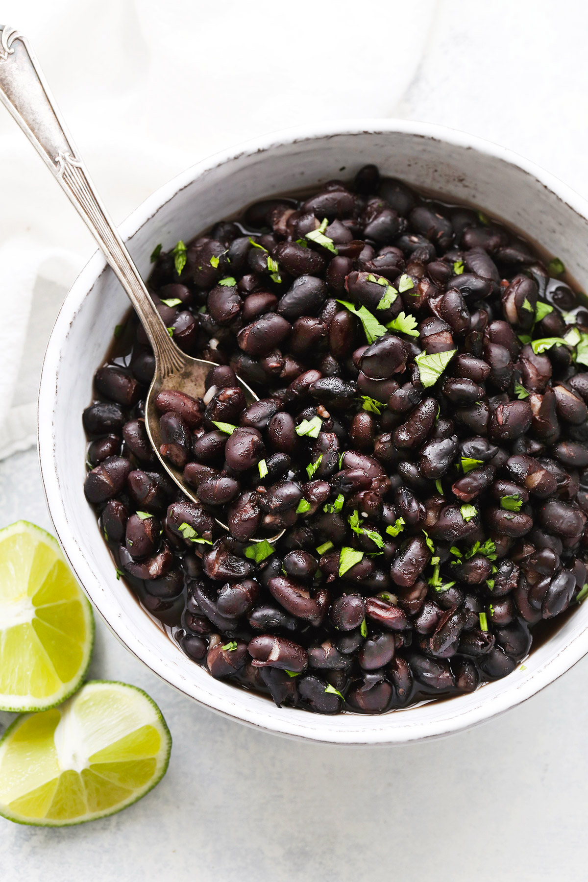 No Soak Instant Pot Black Beans from One Lovely Life