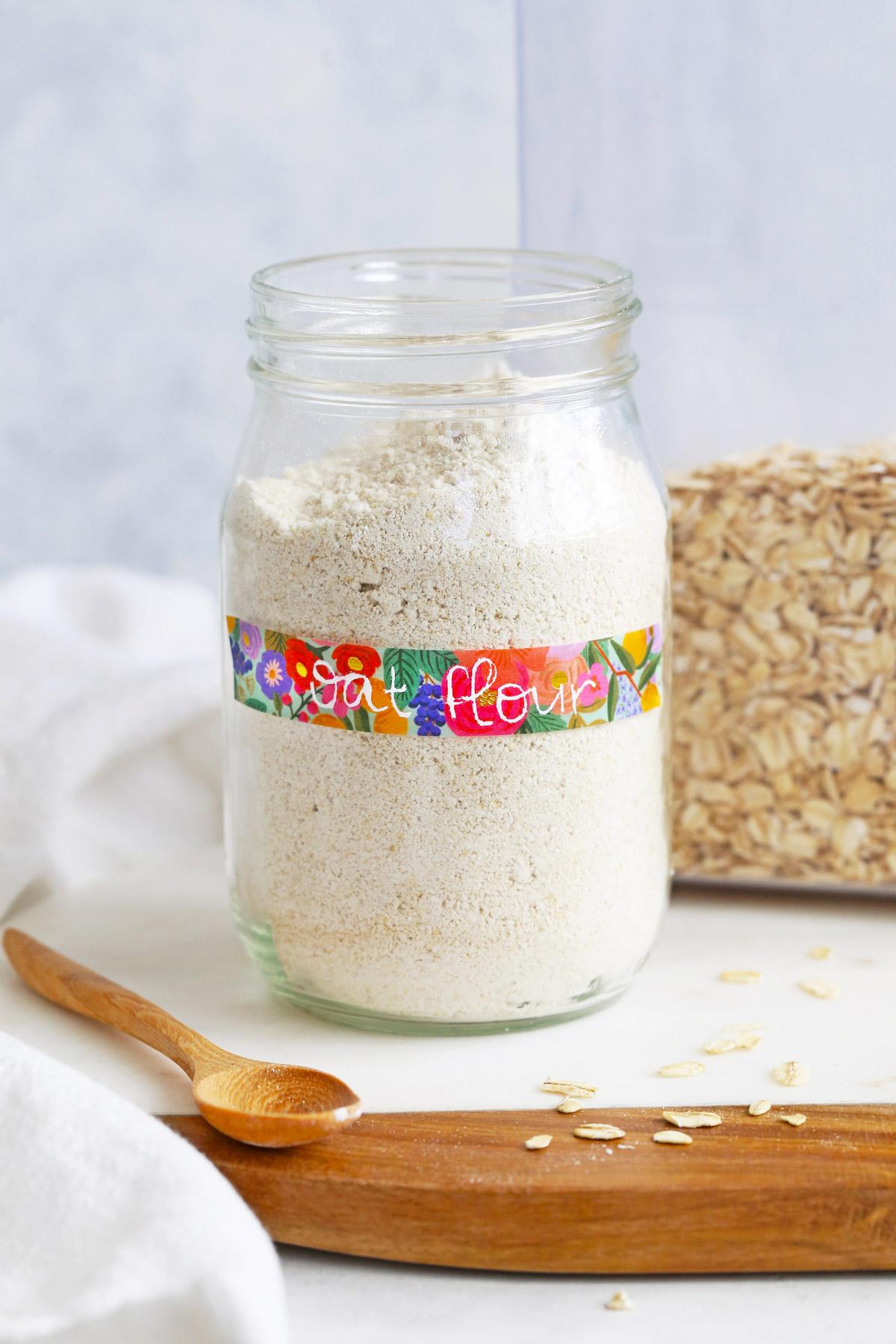 Homemade Oat Flour from One Lovely Life