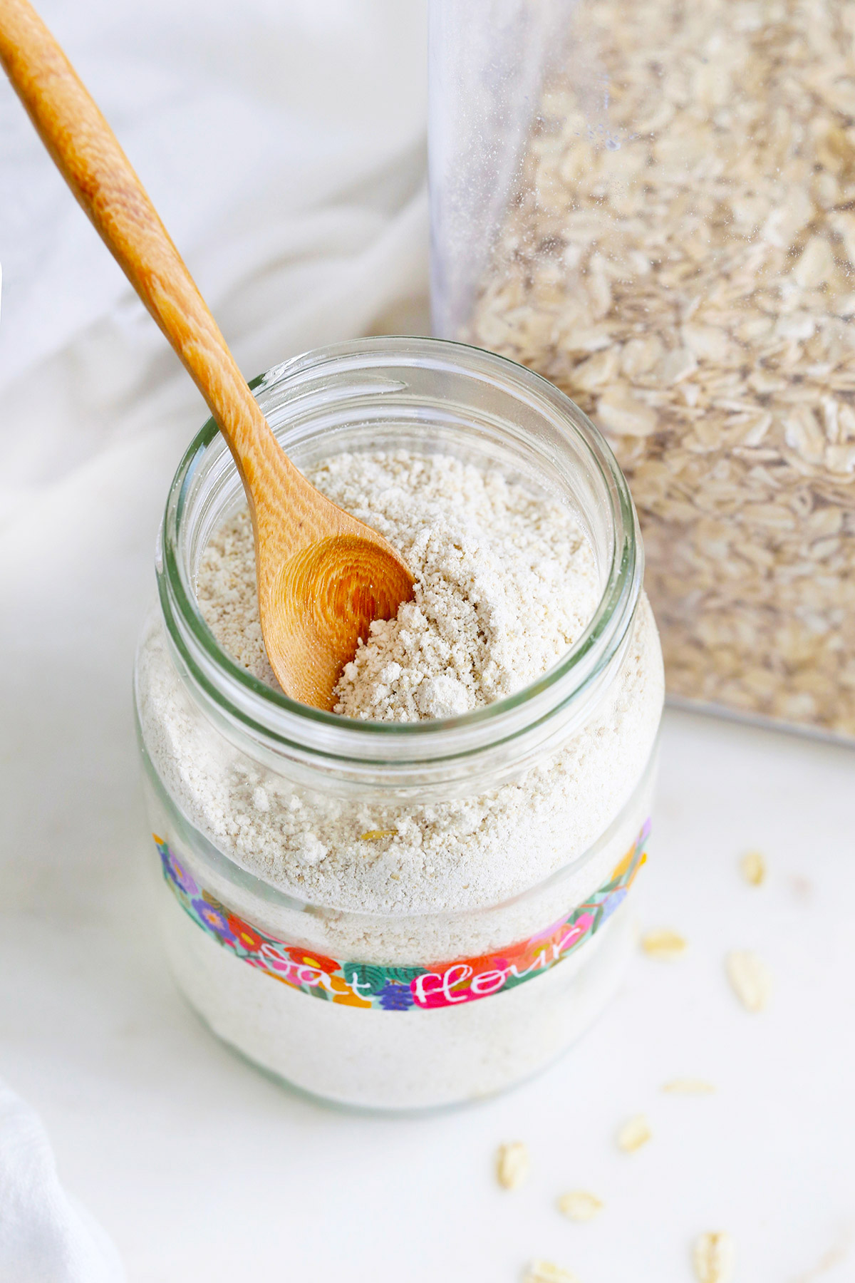 Oat Flour Tutorial from One Lovely Life