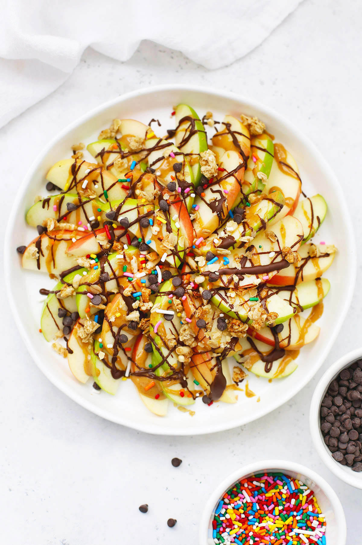 The BEST Apple Nachos from One Lovely Life