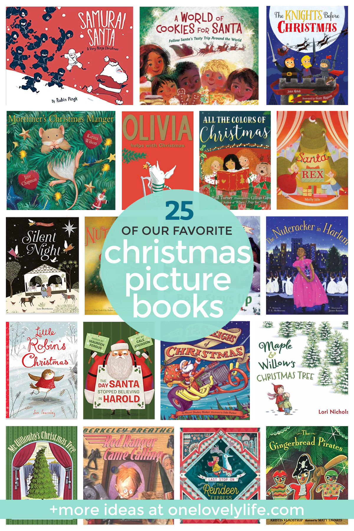 Our Favorite Christmas Picture Books For Kids - These holiday picture books are a perfect way to add a little magic to the season! // Christmas Books For Kids // Christmas Book Advent // Holiday Books For Kids #kidsbooks #books #christmas #advent