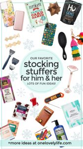 Stocking Stuffer Ideas For adults and teens