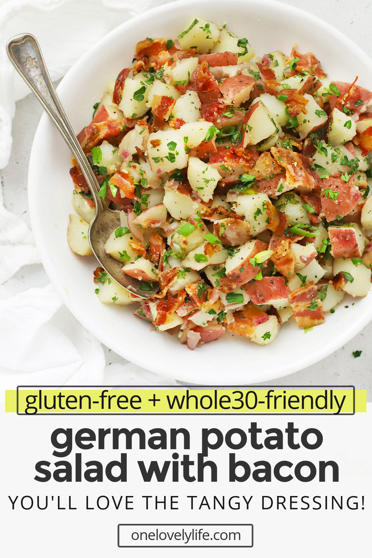 Gluten Free German Potato Salad Recipe